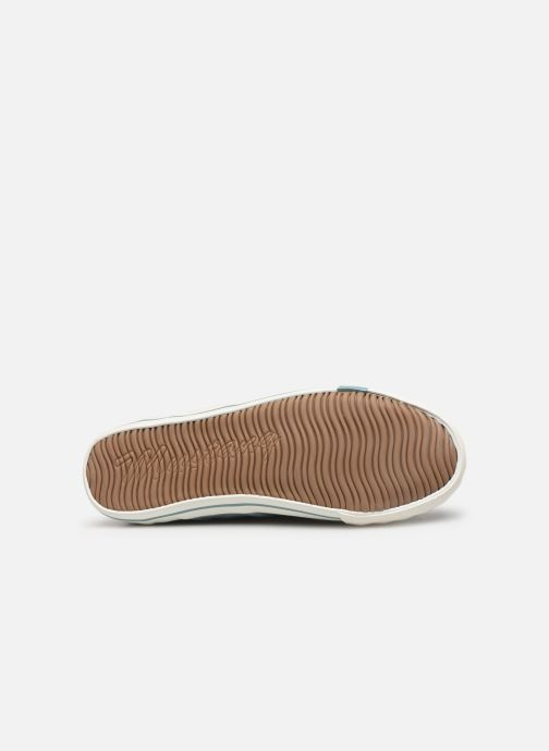 Baskets Mustang shoes Pitaya Bleu vue haut