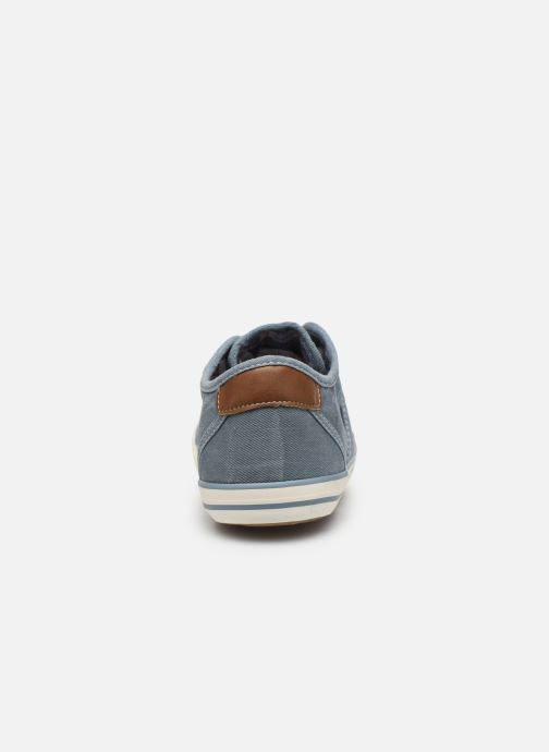 Baskets Mustang shoes Pitaya Bleu vue droite