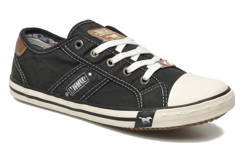 Mustang shoes Pitaya (Noir) - Baskets chez Sarenza (162291) 2522da95cd55