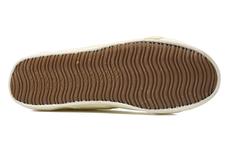Baskets Mustang shoes Pitaya Jaune vue haut