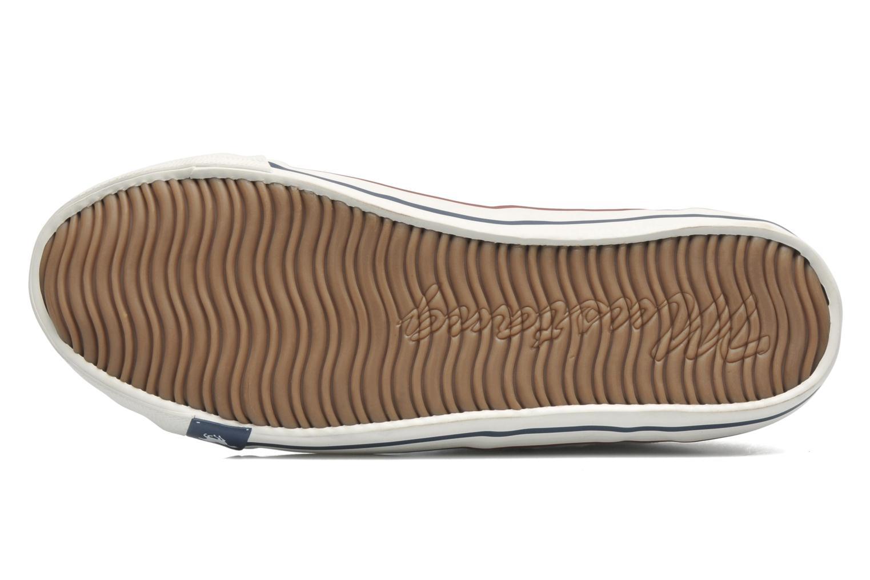 Sneaker Mustang shoes Pitaya weiß ansicht von oben