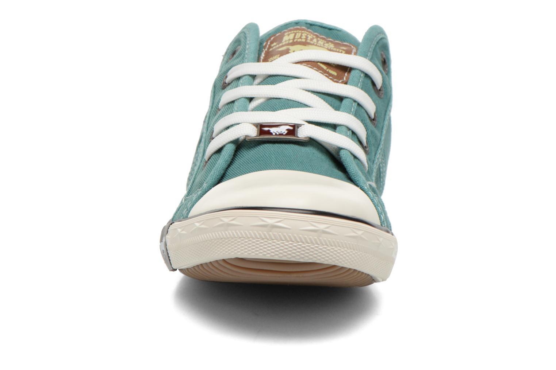 Baskets Mustang shoes Pitaya Vert vue portées chaussures