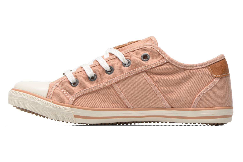 Sneaker Mustang shoes Pitaya orange ansicht von vorne