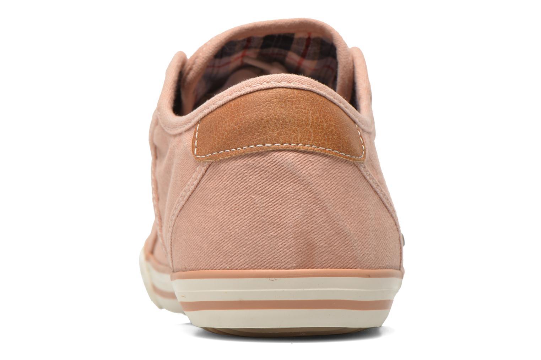 Sneaker Mustang shoes Pitaya orange ansicht von rechts
