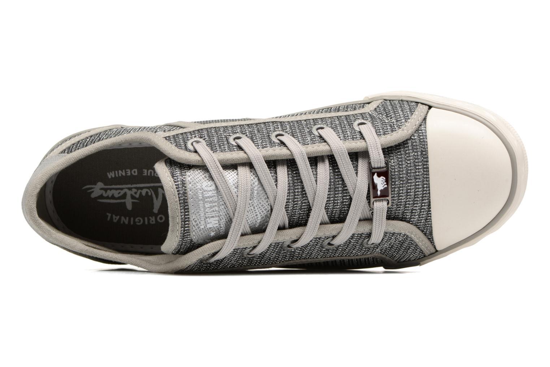 Sneaker Mustang shoes Pitaya silber ansicht von links