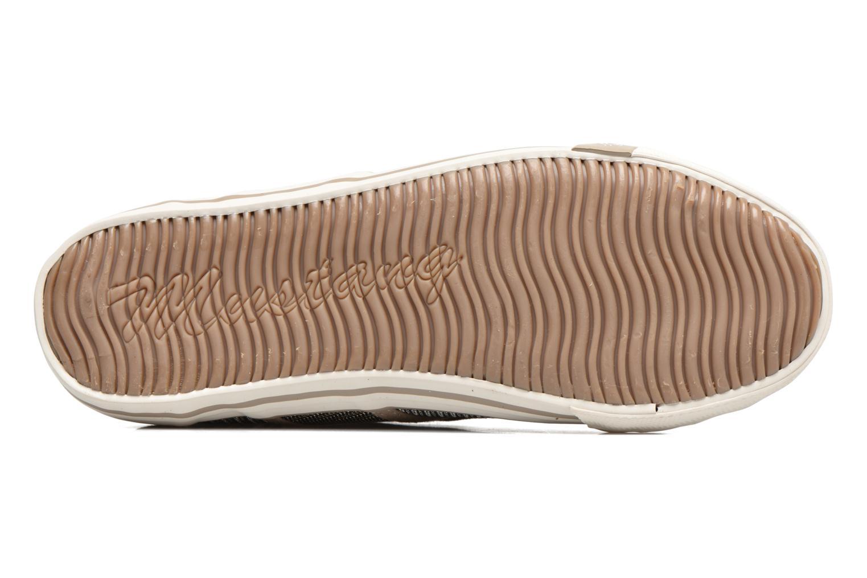 Baskets Mustang shoes Pitaya Or et bronze vue haut