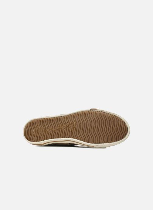 Baskets Mustang shoes Tista Marron vue haut