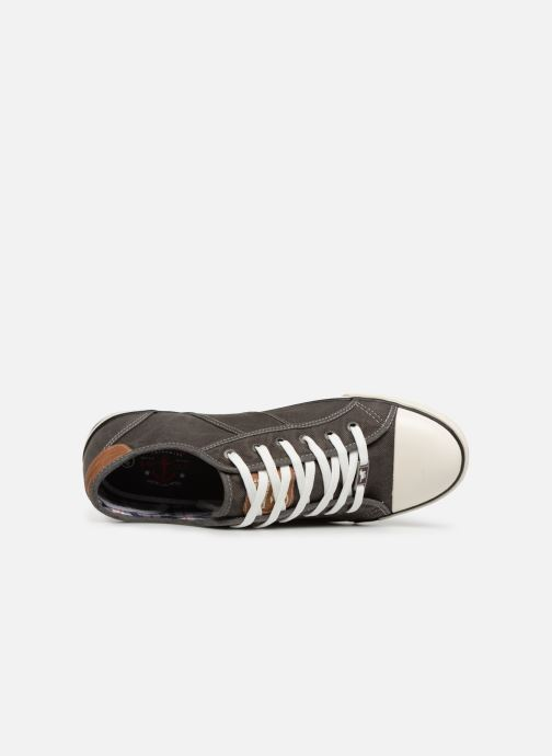 Trainers Mustang shoes Tista Grey view from the left