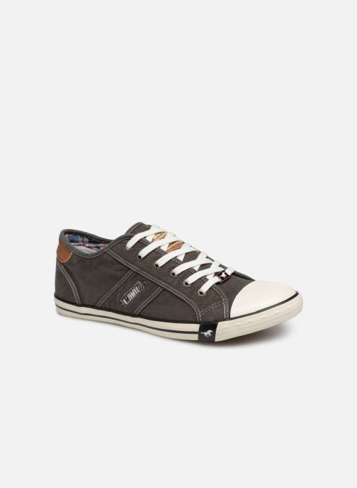Trainers Mustang shoes Tista Grey detailed view/ Pair view