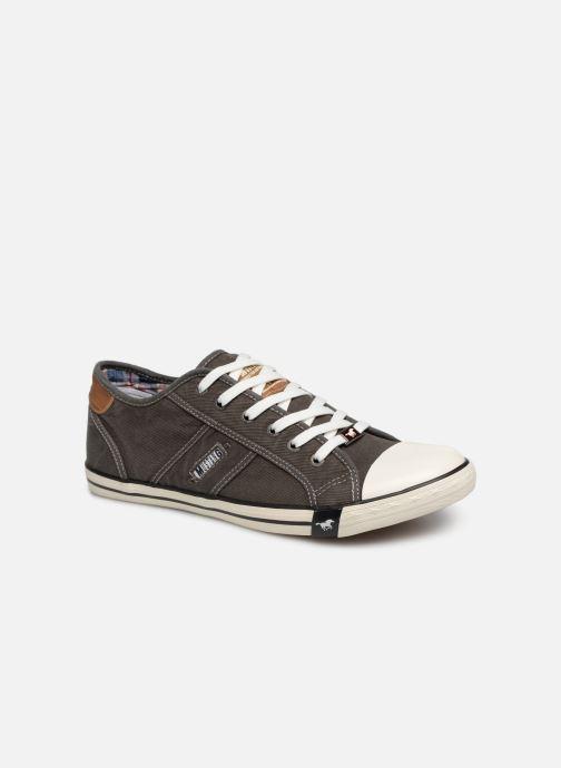 Baskets Mustang shoes Tista Gris vue détail/paire