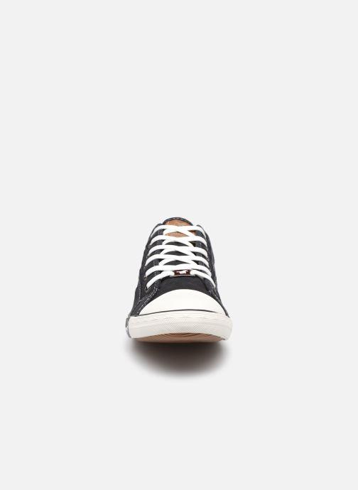 Baskets Mustang shoes Tista Noir vue portées chaussures