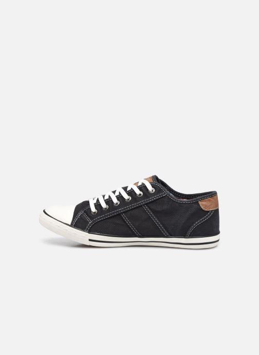 Baskets Mustang shoes Tista Noir vue face