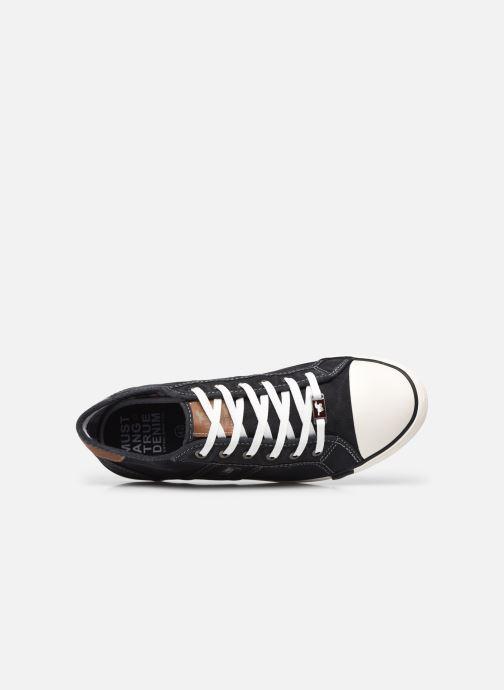 Baskets Mustang shoes Tista Noir vue gauche