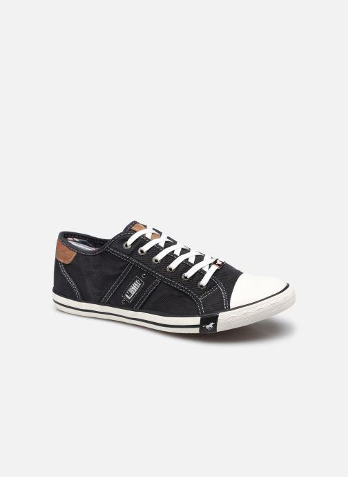 Baskets Mustang shoes Tista Noir vue détail/paire