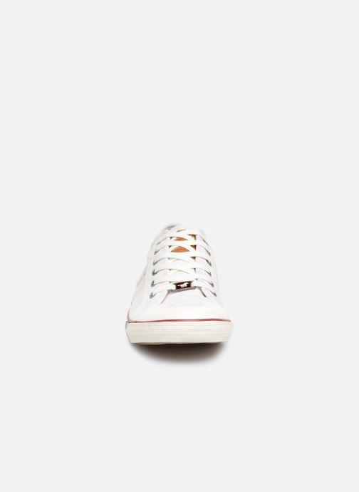 Sneaker Mustang shoes Tista weiß schuhe getragen