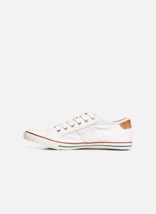 Sneaker Mustang shoes Tista weiß ansicht von vorne