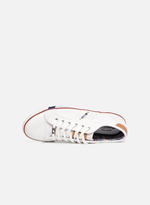 Baskets Mustang shoes Tista Blanc vue gauche