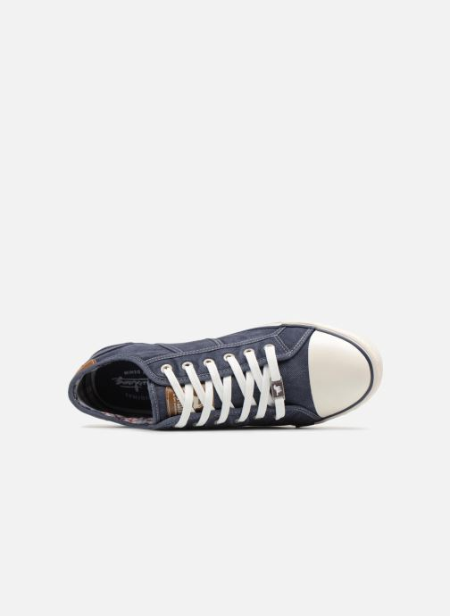 Sneakers Mustang shoes Tista Azzurro immagine sinistra