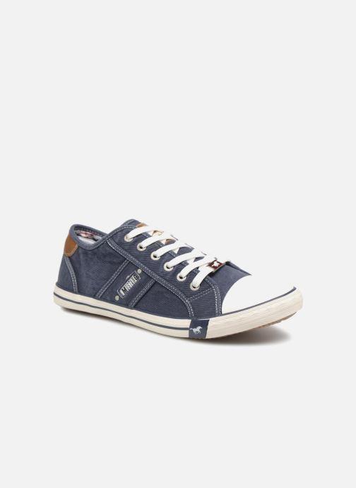 Baskets Mustang shoes Tista Bleu vue détail/paire