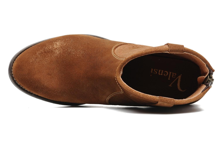 Bottines et boots Valensi Bec Marron vue gauche
