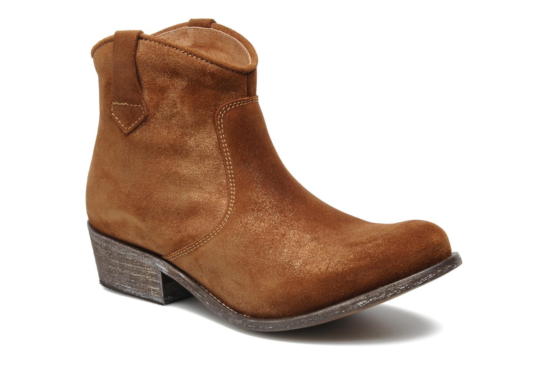 Bottines et boots Valensi Bec Marron vue détail/paire