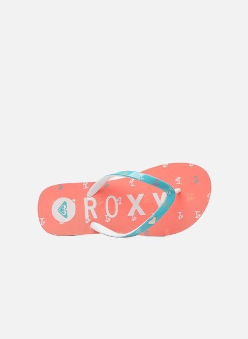 Zehensandalen Roxy RG PEBBLE V K rosa ansicht von links