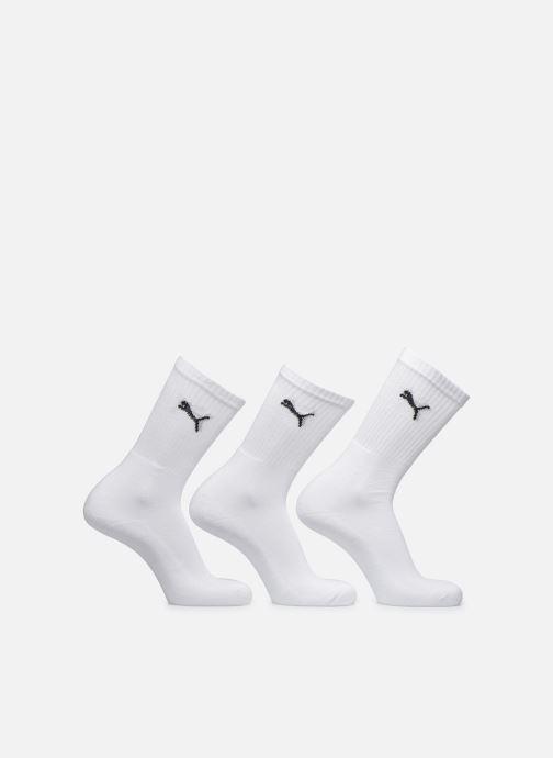 Chaussettes et collants Puma Socks SPORT CREW - LOT DE 3 Blanc vue détail/paire