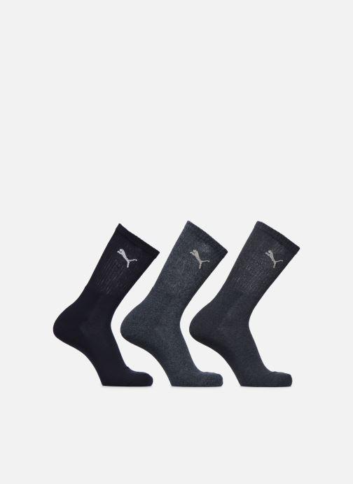 Chaussettes et collants Puma Socks SPORT CREW - LOT DE 3 Bleu vue détail/paire