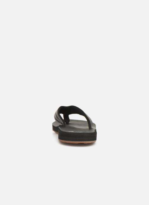 Flip flops Quiksilver Carver Nubuck Black view from the right