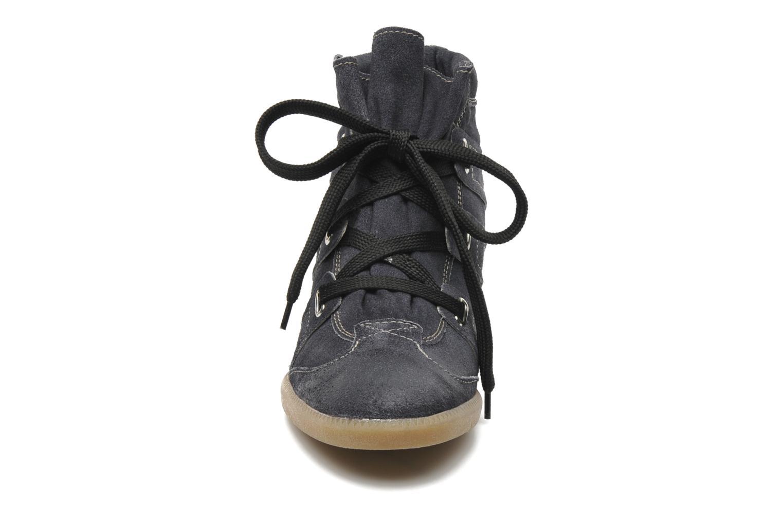 Baskets Manas Mapia Bleu vue portées chaussures