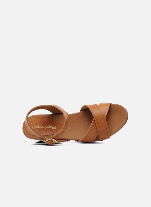 Sandales et nu-pieds Mellow Yellow Potofeu Beige vue gauche