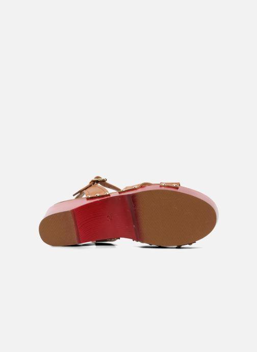 Sandales et nu-pieds Mellow Yellow Potofeu Beige vue haut