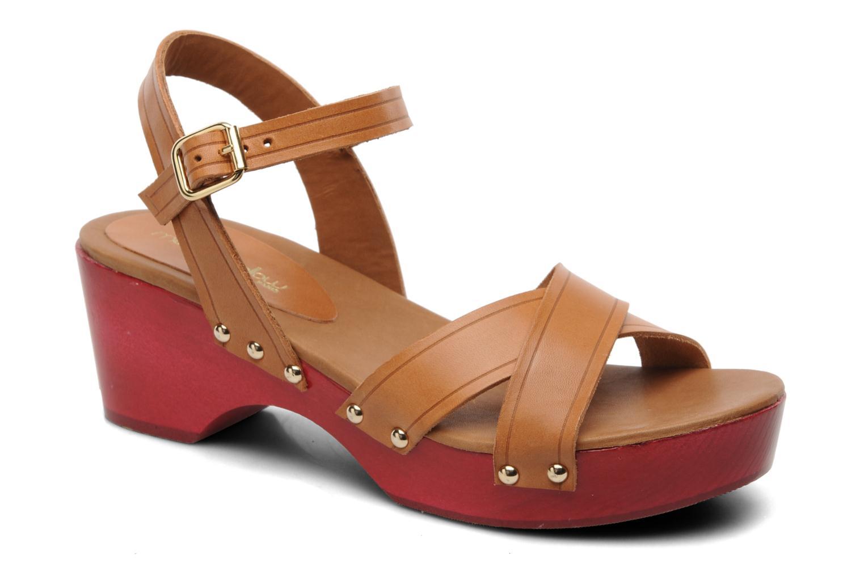 Sandales et nu-pieds Mellow Yellow Potofeu Beige vue détail/paire