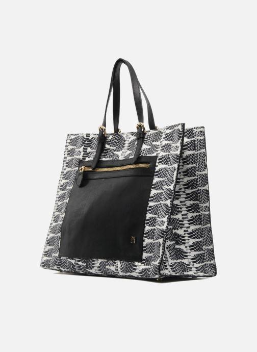 Handtaschen MySuelly Jo schwarz schuhe getragen