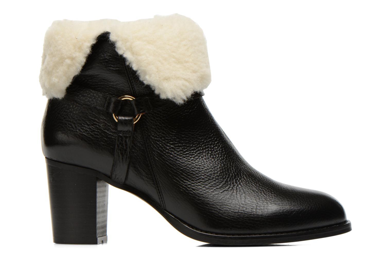 Bottines et boots Georgia Rose Chalet Noir vue derrière
