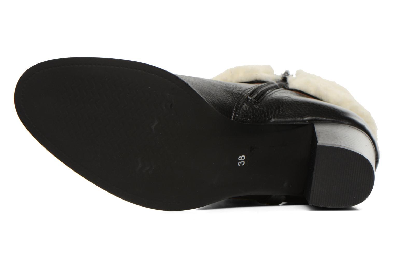 Bottines et boots Georgia Rose Chalet Noir vue haut