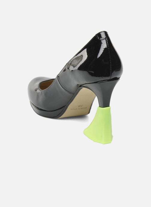 Productos de limpieza Heelbopps   Protege talón   Amarillo vista de frente