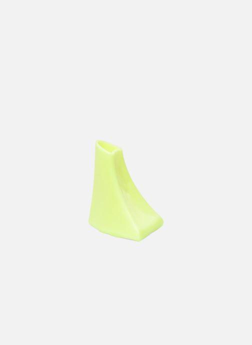 Productos de limpieza Heelbopps   Protege talón   Amarillo vistra trasera