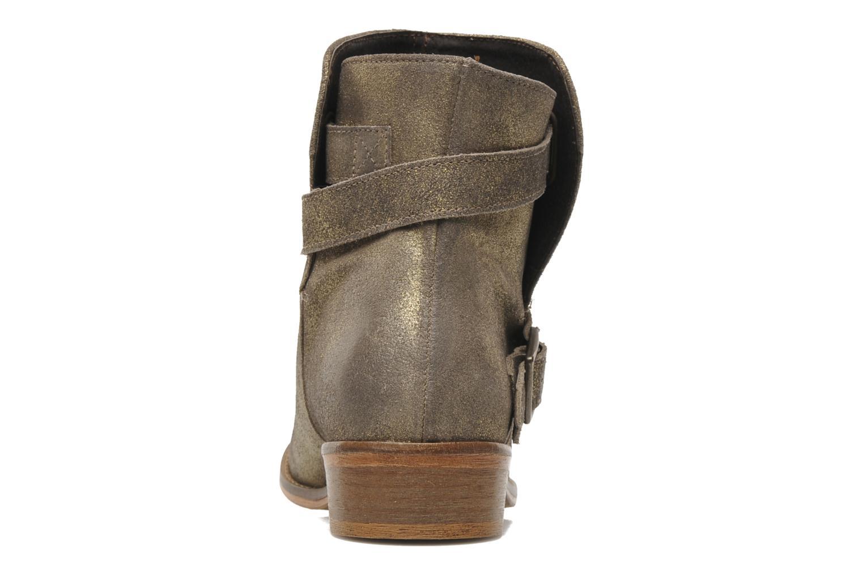 Bottines et boots Berenice I Burn Or et bronze vue droite