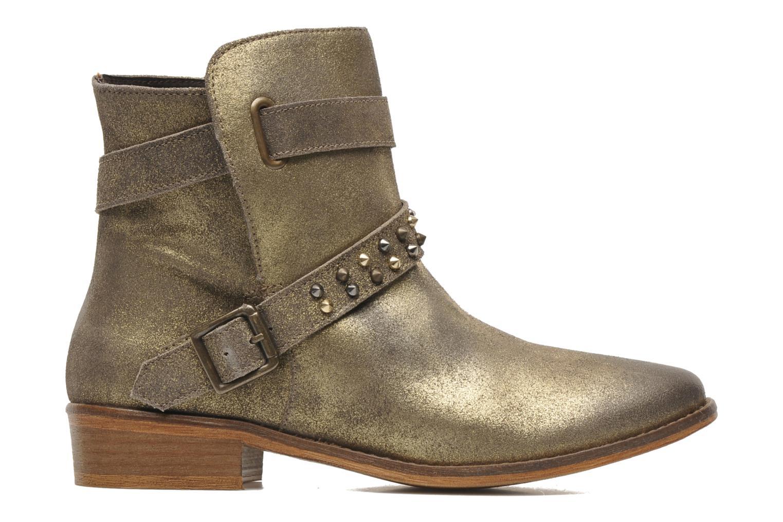 Bottines et boots Berenice I Burn Or et bronze vue derrière