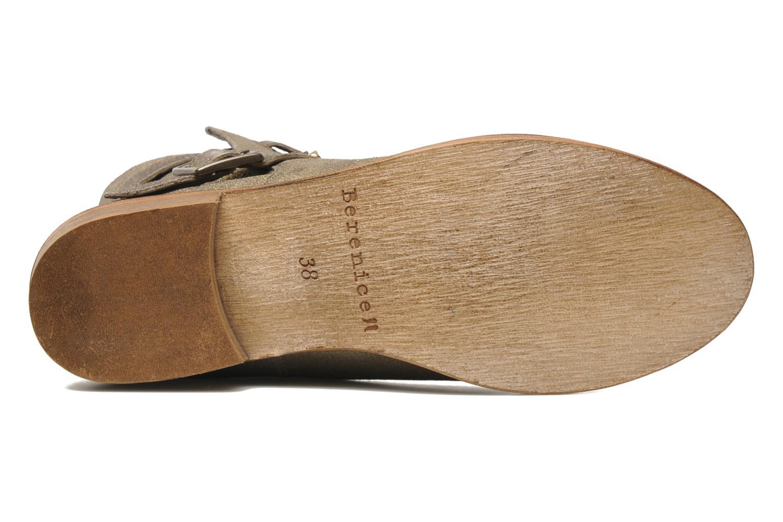 Bottines et boots Berenice I Burn Or et bronze vue haut