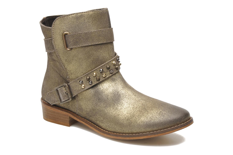 Bottines et boots Berenice I Burn Or et bronze vue détail/paire