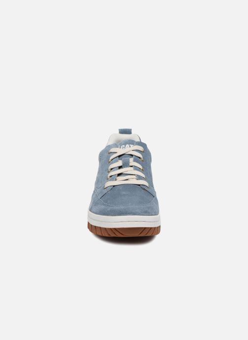 Baskets Caterpillar Decade Bleu vue portées chaussures