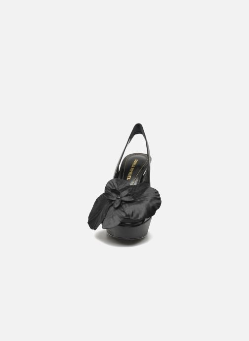 Sandals Sonia Rykiel Fleur Black model view