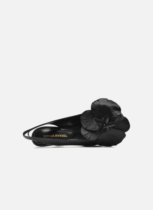 Sandals Sonia Rykiel Fleur Black view from the left