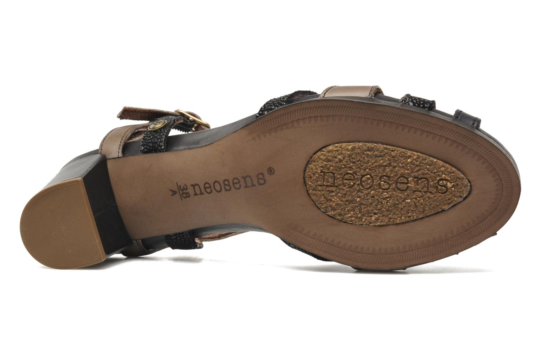 Sandales et nu-pieds Neosens Moll 484 Noir vue haut