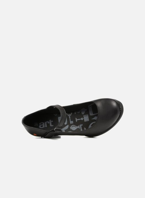 Zapatos de tacón Art Harlem 933 Negro vista lateral izquierda