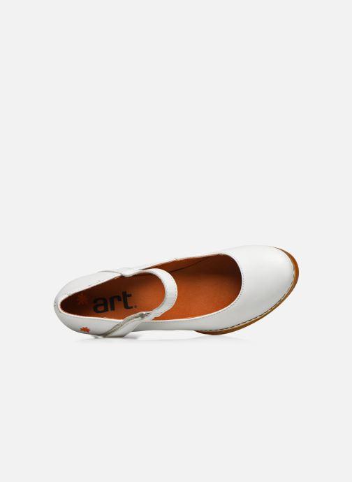 Zapatos de tacón Art Harlem 933 Blanco vista lateral izquierda