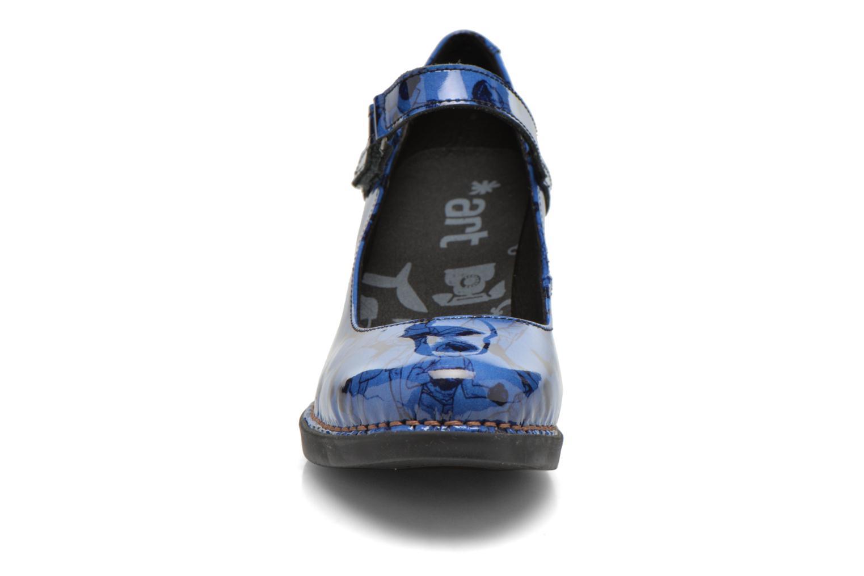 Escarpins Art Harlem 933 Bleu vue portées chaussures