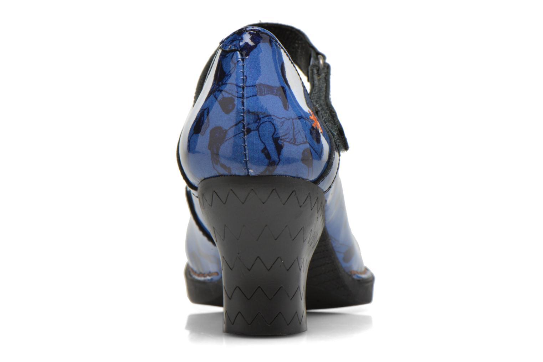 Escarpins Art Harlem 933 Bleu vue droite